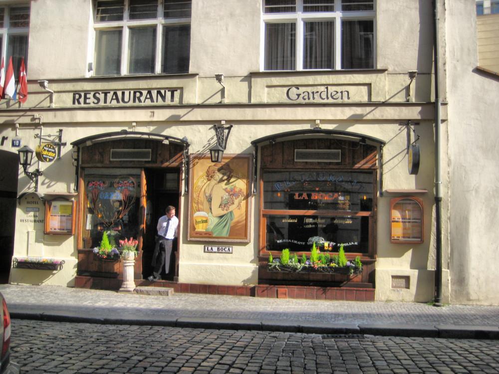 Кафе La Boca в Праге