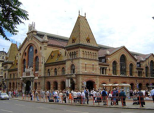 Рынок Будапешта.