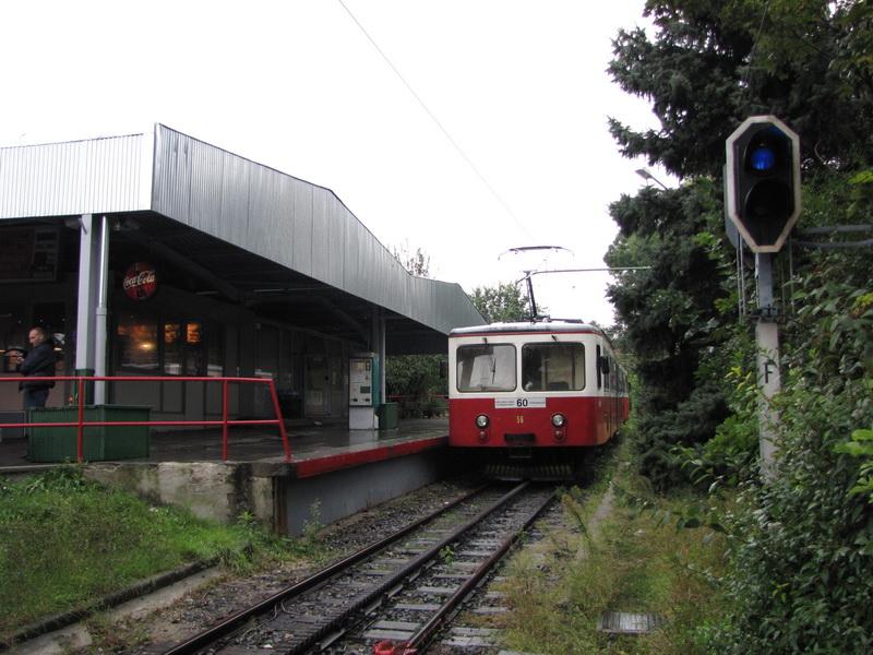 Зубчатая железная дорога в Будапеште