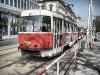 Пражский трамвай недалеко от Карлово Намести