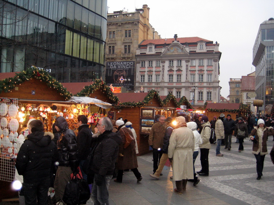 Прага на Новый год и Рождество.