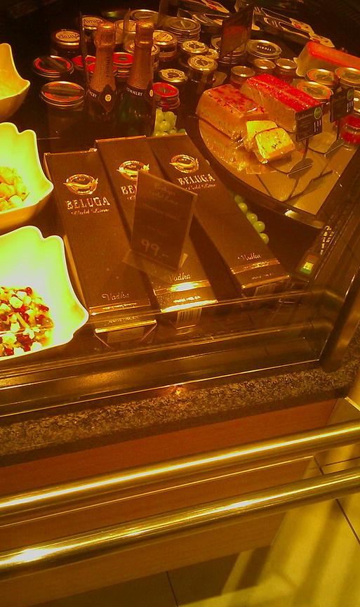 Белуга по 99 евро в берлинском супермаркете.