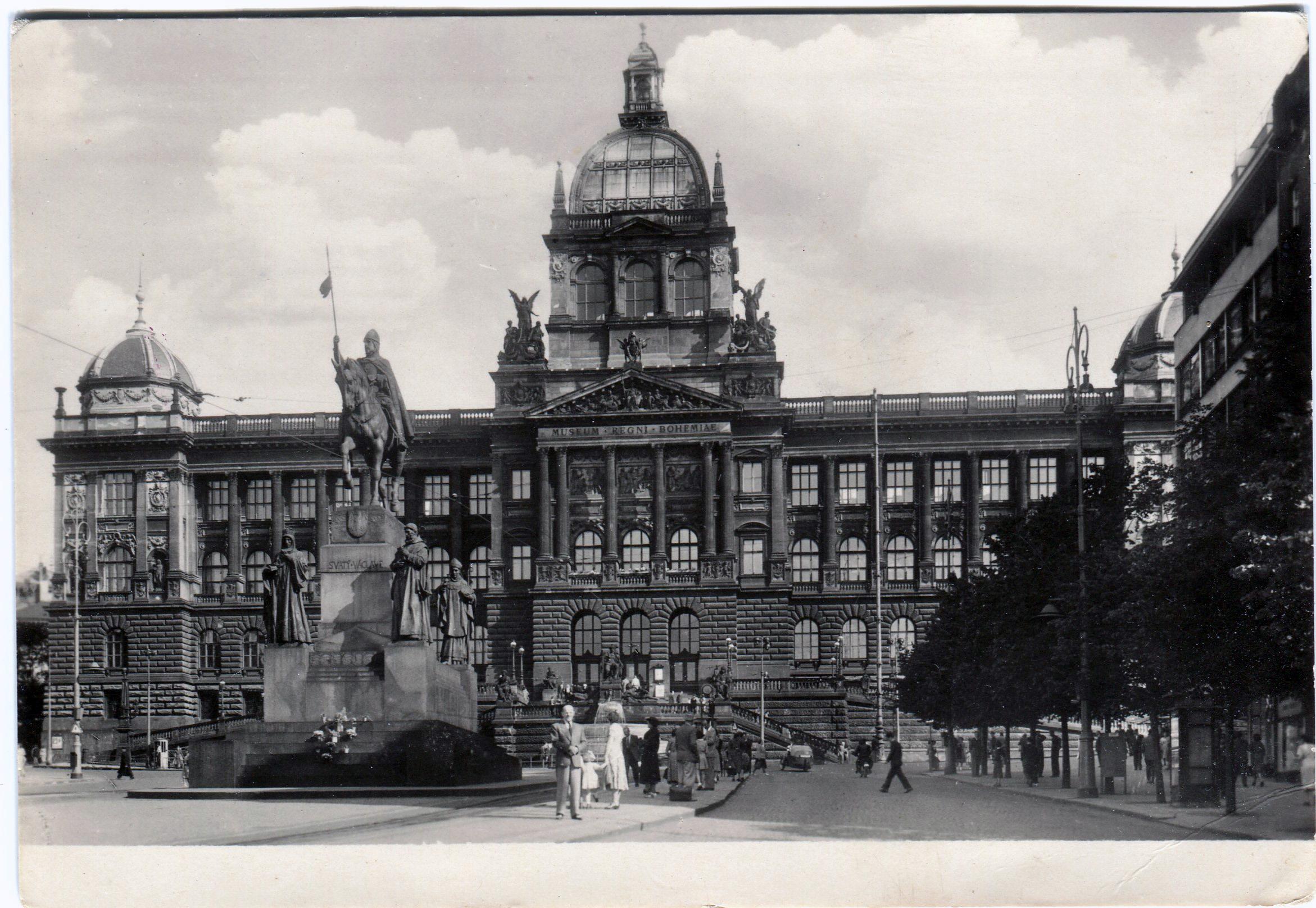 Прага. Национальный музей на станции метро Muzeum.