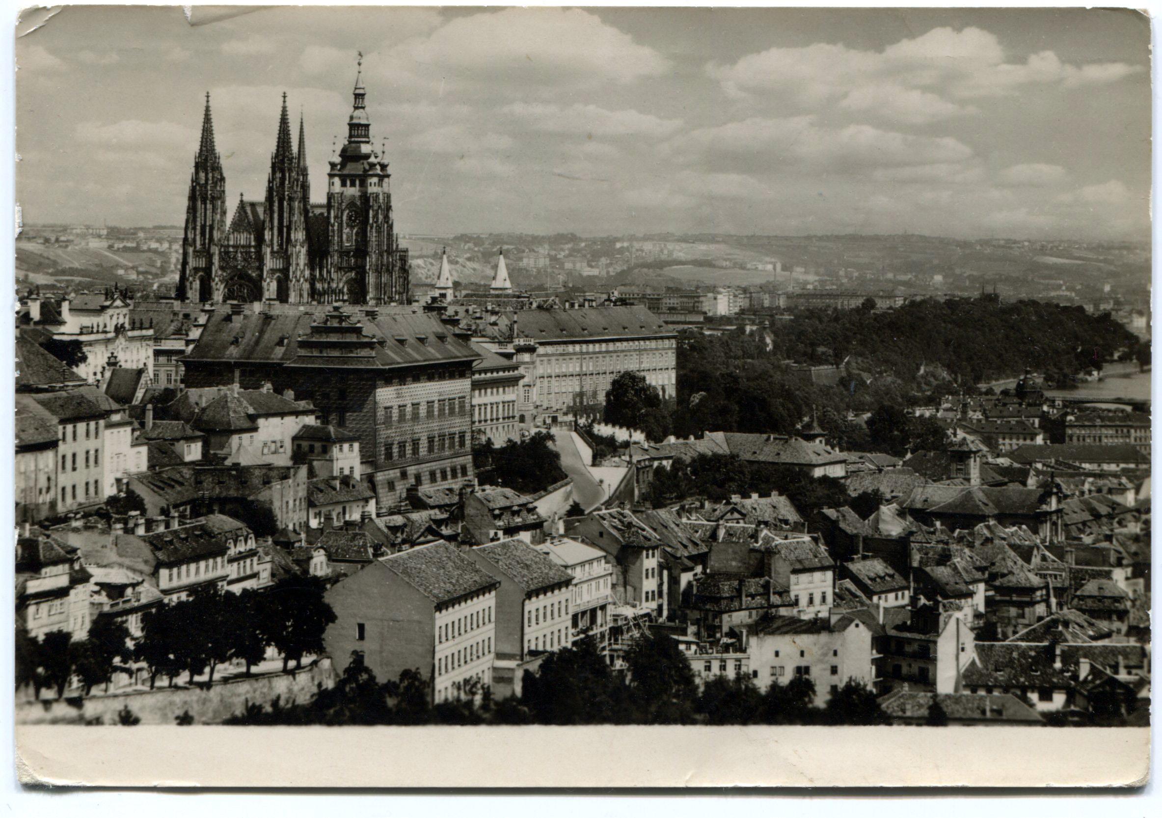 Прага. Градчаны.