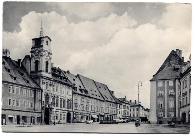 Чехия. Хеб. Площадь чехословацкой армии.