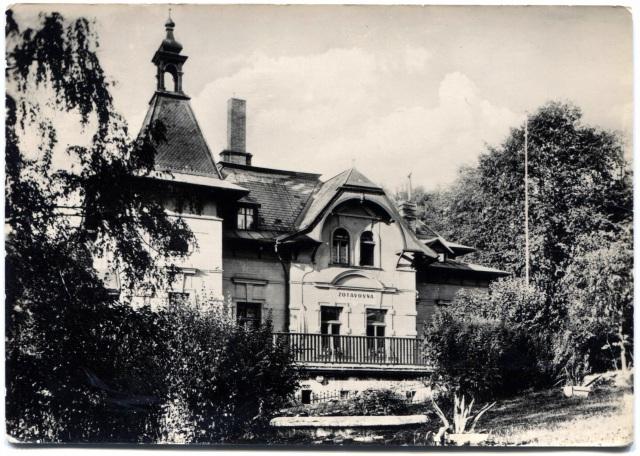 Чехия. Каменицки Шенов (немец. Steinschönau). Дом отдыха.