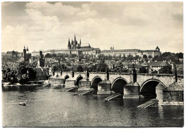 Прага. Карлов Мост и Пражский Град