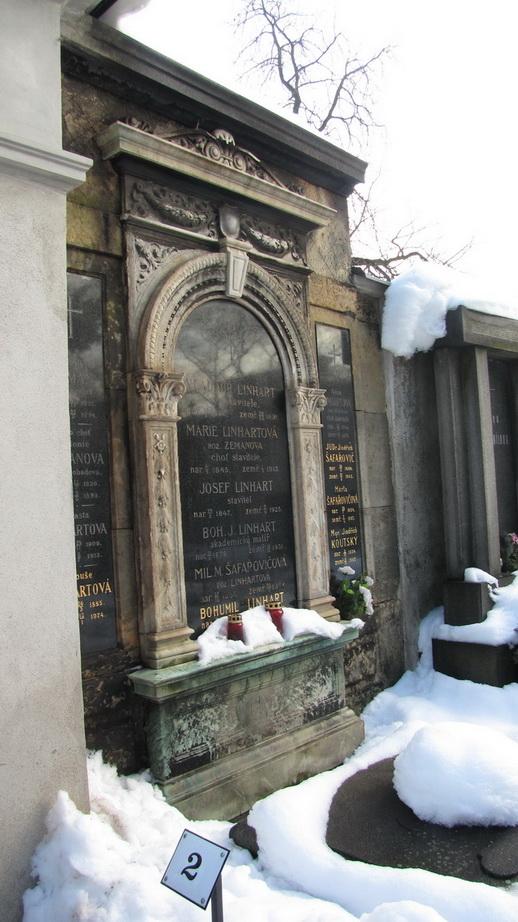 Вышеград и Кладбище в Вышеграде. Прага.