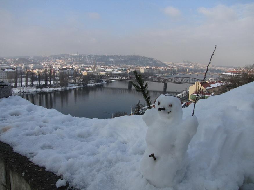 Вышеград в Праге.