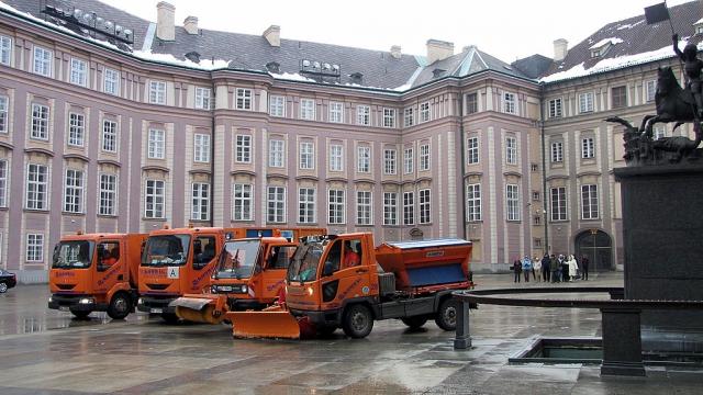 Зима в Праге