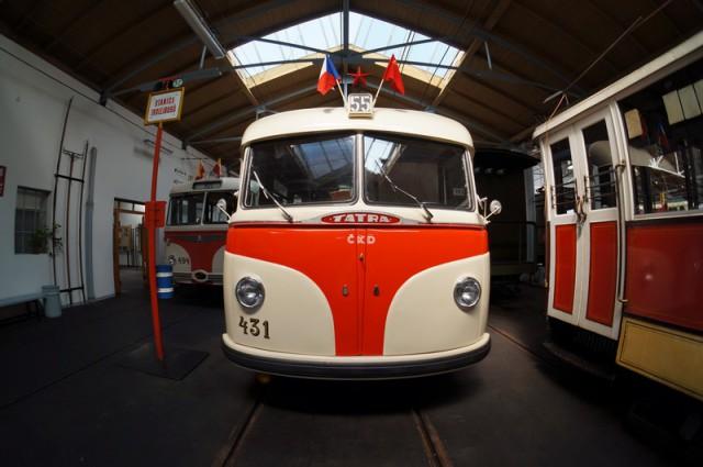 Троллейбус в Праге