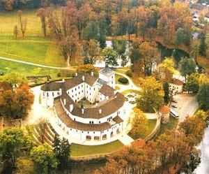 Замок Чехии Бржезнице