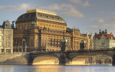 Свадьба в Национальном театре Праги