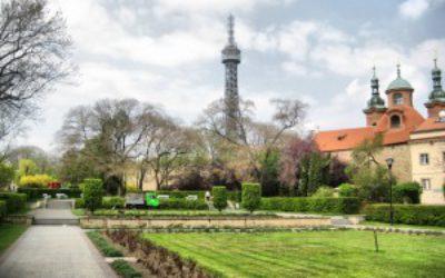 Холм Петршин и Петршинская Башня в Праге