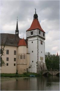 Чешский замок Блатна
