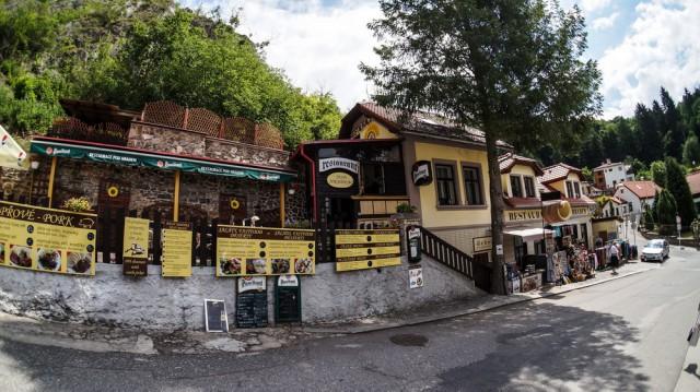 Ещё один ресторанчик у замка Карлштейн