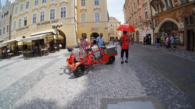 Прокат и аренда велосипедов и Сегвеев в Праге является востребованной услугой среди туристов