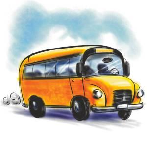На автобусе в Прагу
