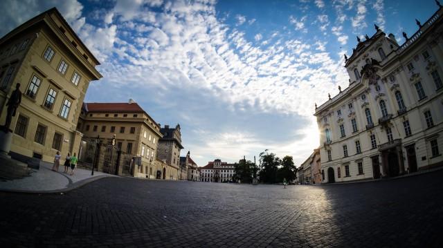 Градчанская площадь в Праге