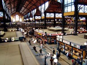 Магазины и рынки в Будапеште.