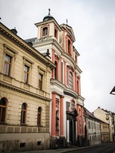 Церковь Святого Яна Непомуцкого в Кутной Горе