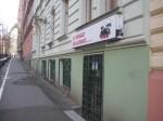 Магазин моделей в Праге, на улице Manesova.