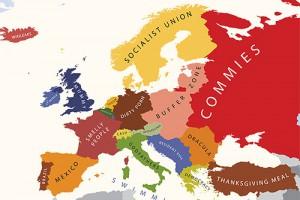 Чехия глазами Европейцев.