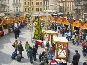 Пасха в Праге