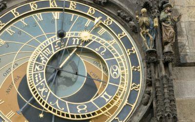 Видео празднования 600 лет Пражских часов