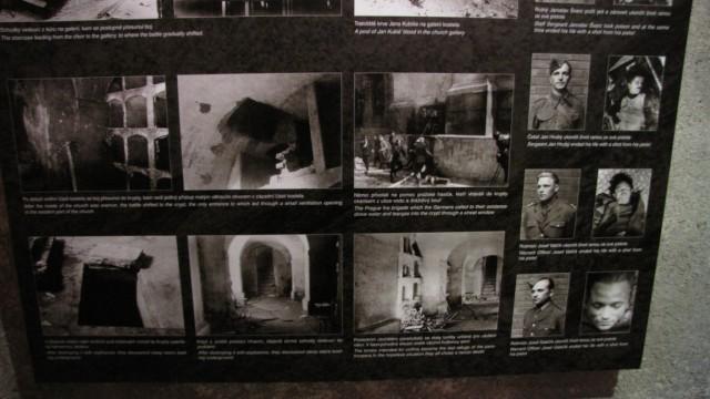 Храм Св. Кирилла и Мефодия в Праге. Музей.