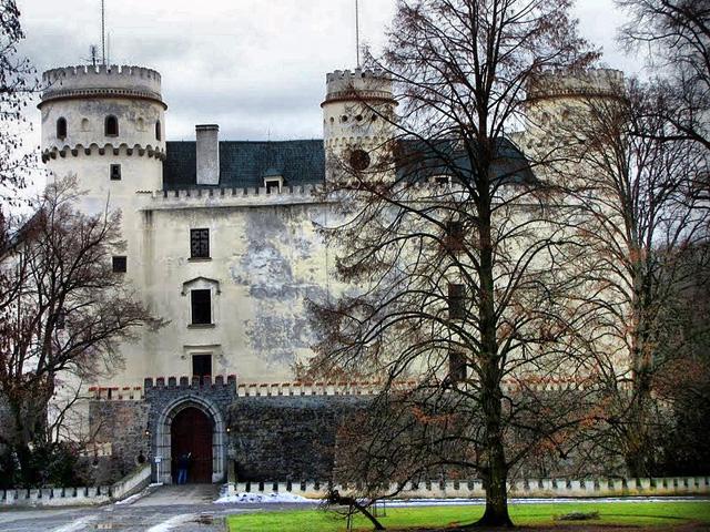 Замок Орлик. Чехия. Январь 2011.