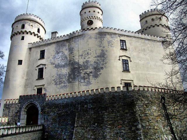 Замок Орлик. Часть первая. Вид с замка Орлик.