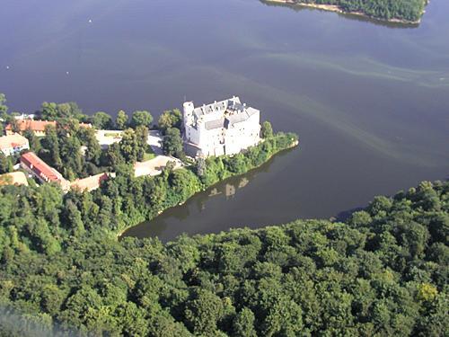 Чешский замок Орлик.