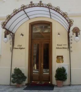 Отель Праги Athena Palace.
