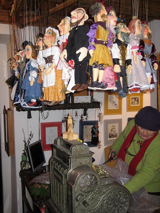 Магазин марионеток в Праге
