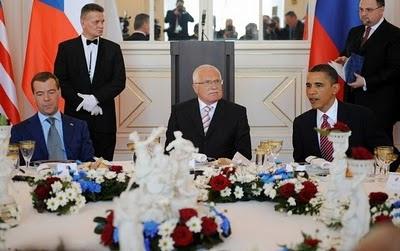 Дмитрий Медведев в Праге