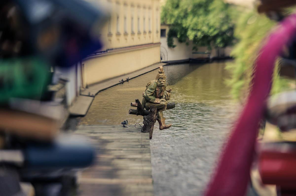 Водяной в Праге