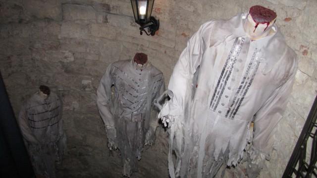 Лестница в музее призраков в Праге