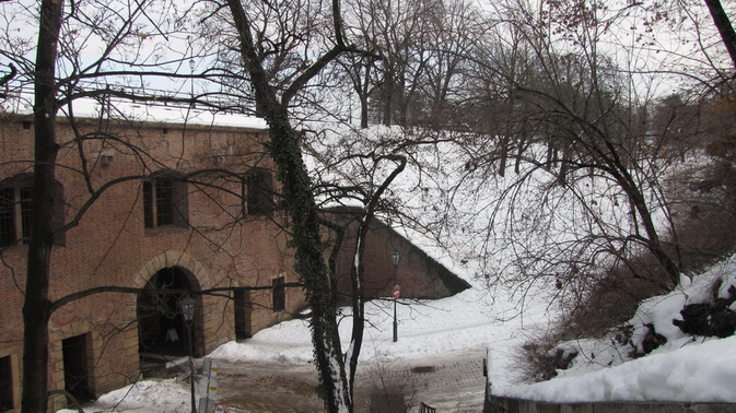 Казематы на Вышеграде в Праге.