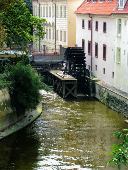 Водяная мельница на Чертовке. Прага.