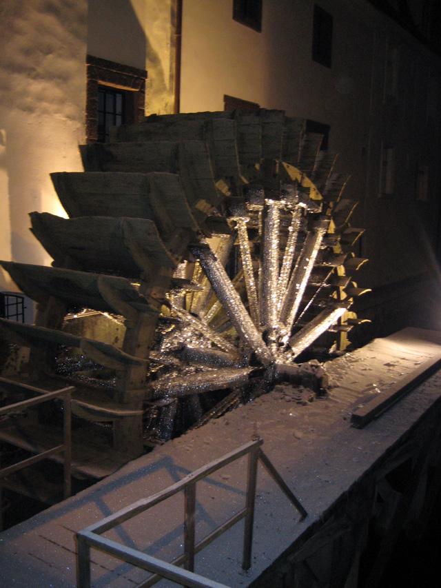 Водяная мельница в Праге.
