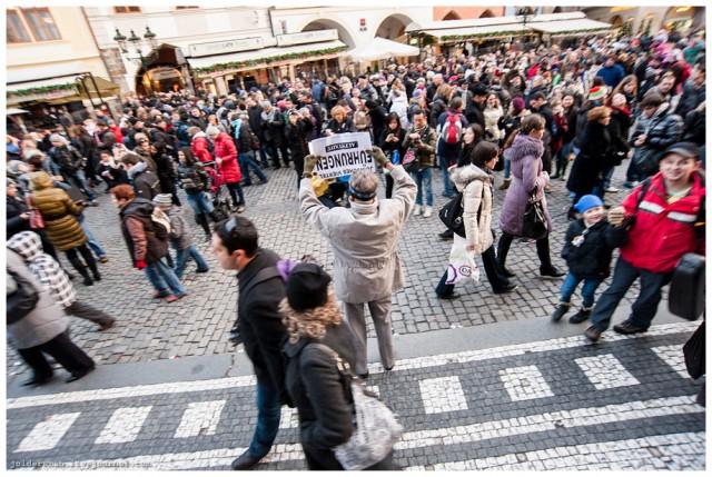 Рождество в Праге. Староместская площадь.