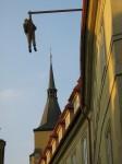 Скульптуры Праги: Зигмунд Фрейд Давида Черны