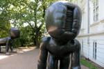 Скульптуры Праги: Дети Давида Черны