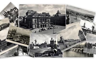 Старые фотографии Праги и Чехии