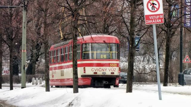 Учебный трамвай в Праге