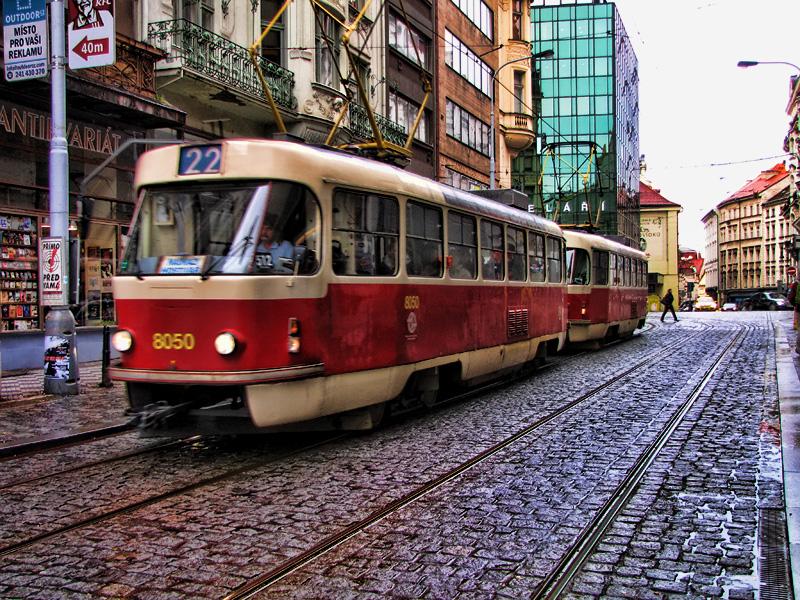История трамвая Праги