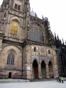 Колокольня собора святого Вита в Праге