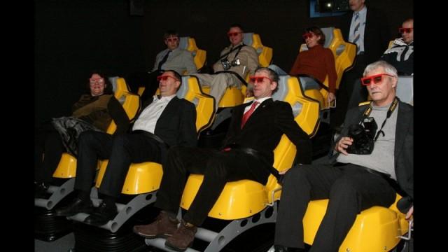 5D кинотеатр в Праге