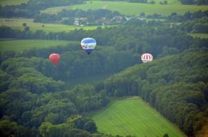 На воздушном шаре над Чехией
